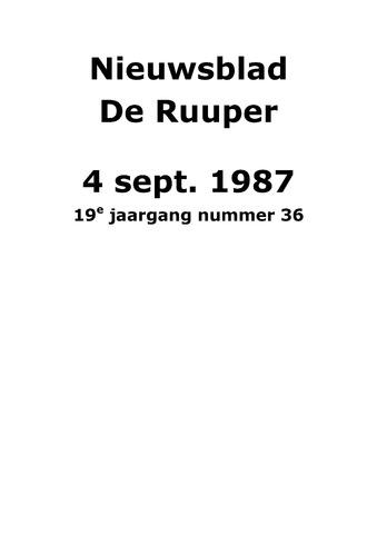 Dorpsblad Leunen-Veulen-Heide 1987-09-04