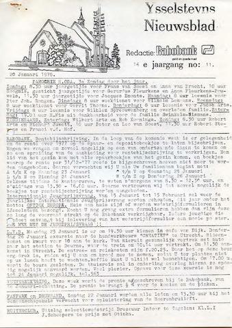 Ysselsteyns Nieuwsblad 1978-01-20