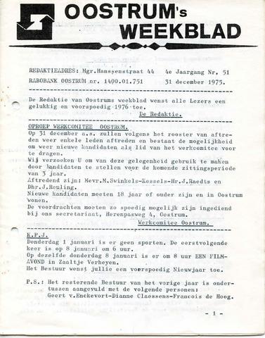 Oostrum's Weekblad 1975-12-31