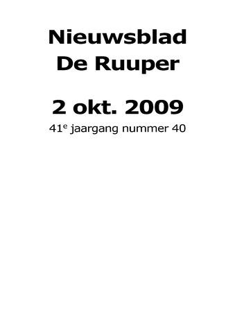 Dorpsblad Leunen-Veulen-Heide 2009-10-02