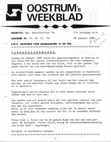 Oostrum's Weekblad 1988-01-28