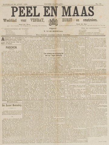 Peel en Maas 1889-04-20