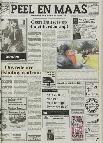 Peel en Maas 1998-04-16
