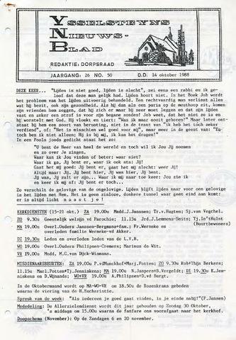 Ysselsteyns Nieuwsblad 1988-10-14
