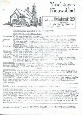 Ysselsteyns Nieuwsblad 1979-04-13