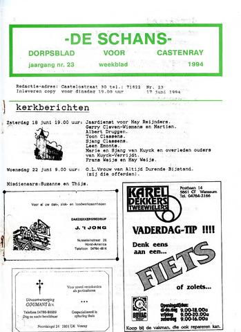 Castenrays dorpsblad De Schans 1994-06-17