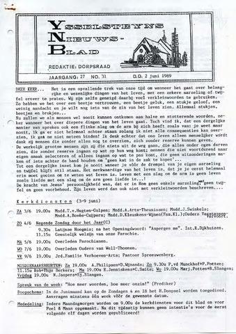 Ysselsteyns Nieuwsblad 1989-06-02