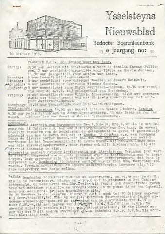 Ysselsteyns Nieuwsblad 1975-10-10