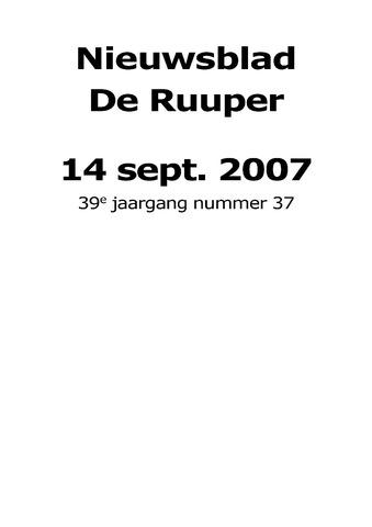 Dorpsblad Leunen-Veulen-Heide 2007-09-14