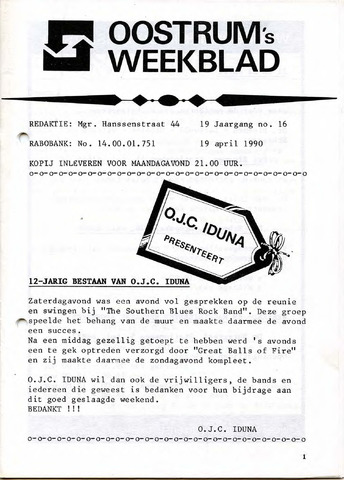 Oostrum's Weekblad 1990-04-19