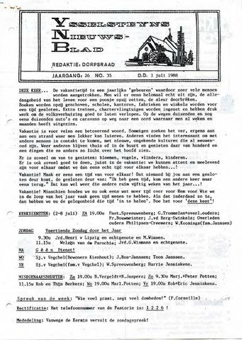 Ysselsteyns Nieuwsblad 1988-07-01