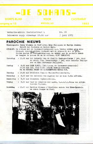 Castenrays dorpsblad De Schans 1983-06-03