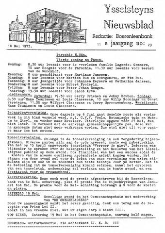 Ysselsteyns Nieuwsblad 1973-05-18