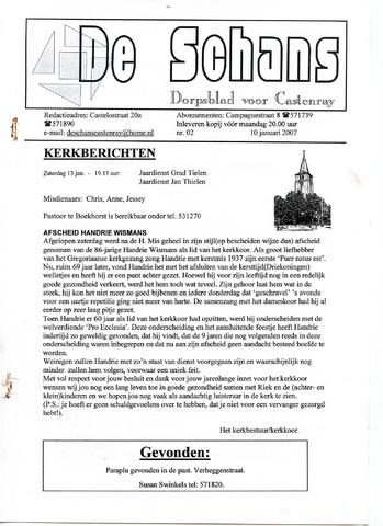 Castenrays dorpsblad De Schans 2007-01-10