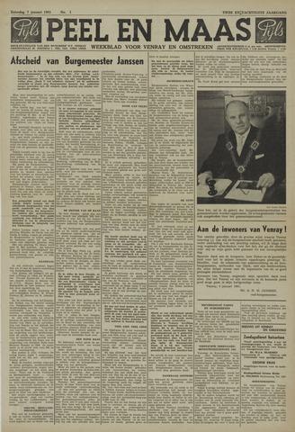 Peel en Maas 1961-01-07