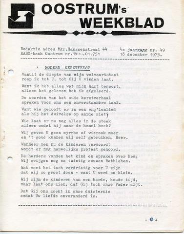 Oostrum's Weekblad 1975-12-18