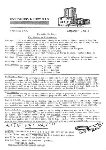 Ysselsteyns Nieuwsblad 1968-11-08