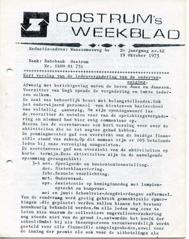 Oostrum's Weekblad 1973-10-19