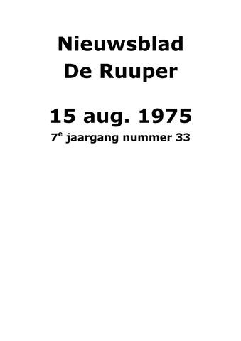 Dorpsblad Leunen-Veulen-Heide 1975-08-15