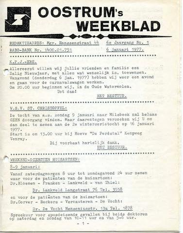 Oostrum's Weekblad 1977