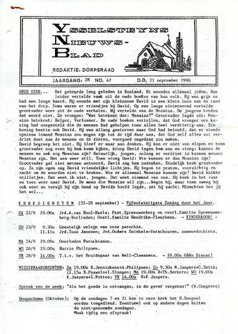Ysselsteyns Nieuwsblad 1990-09-21