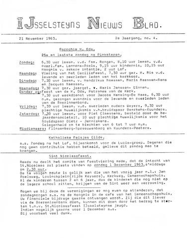 Ysselsteyns Nieuwsblad 1963-11-21