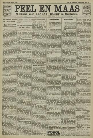 Peel en Maas 1934-04-28