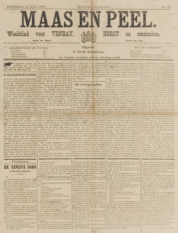 Peel en Maas 1888-07-14