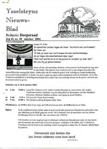 Ysselsteyns Nieuwsblad 2004-10-01