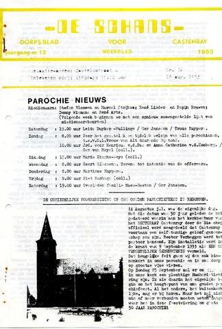 Castenrays dorpsblad De Schans 1983-08-19