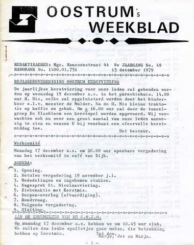 Oostrum's Weekblad 1979-12-13