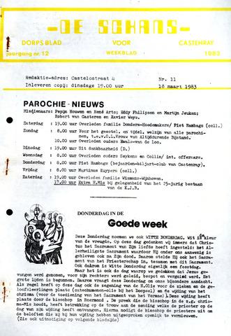 Castenrays dorpsblad De Schans 1983-03-16