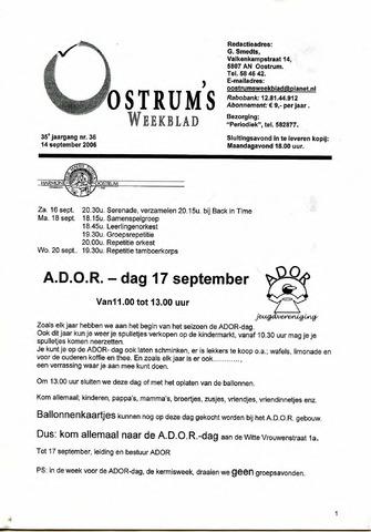Oostrum's Weekblad 2006-09-14