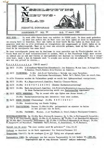 Ysselsteyns Nieuwsblad 1989-03-17