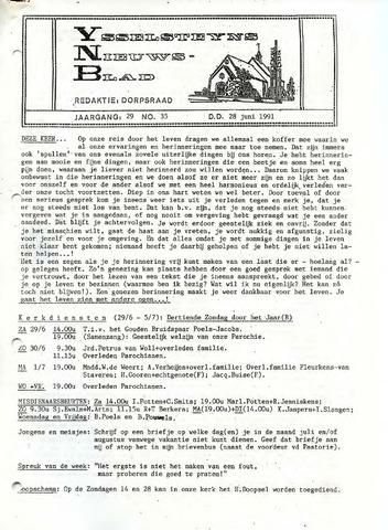 Ysselsteyns Nieuwsblad 1991-06-28