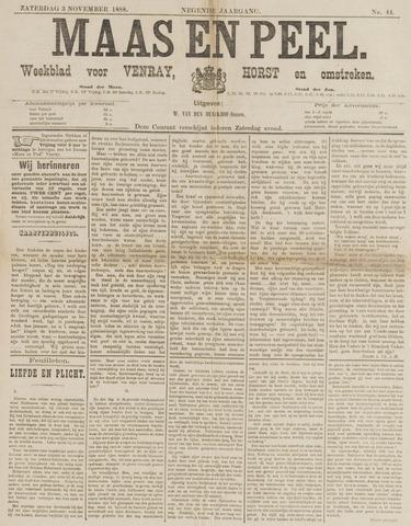 Peel en Maas 1888-11-03