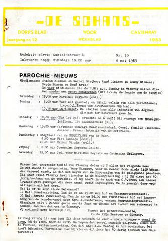 Castenrays dorpsblad De Schans 1983-05-06