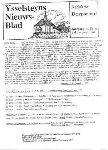 Ysselsteyns Nieuwsblad 1997-01-17