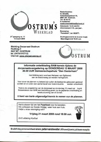 Oostrum's Weekblad 2008-03-13