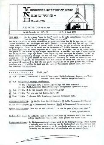 Ysselsteyns Nieuwsblad 1993-06-04