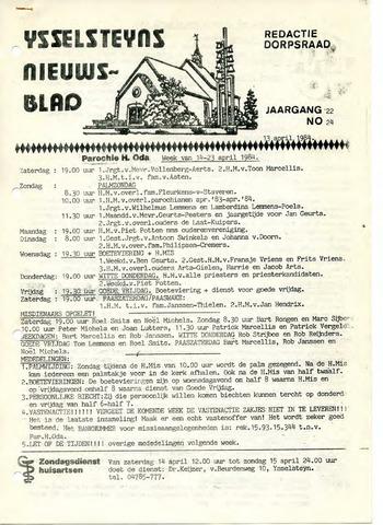 Ysselsteyns Nieuwsblad 1984-04-13