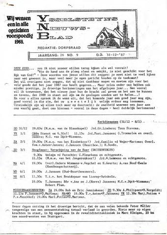 Ysselsteyns Nieuwsblad 1987-12-31