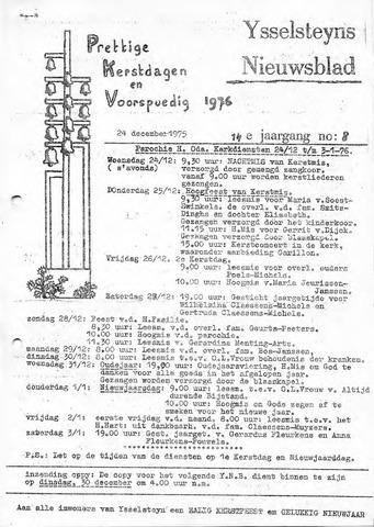 Ysselsteyns Nieuwsblad 1975-12-24