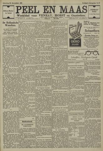 Peel en Maas 1939-11-25