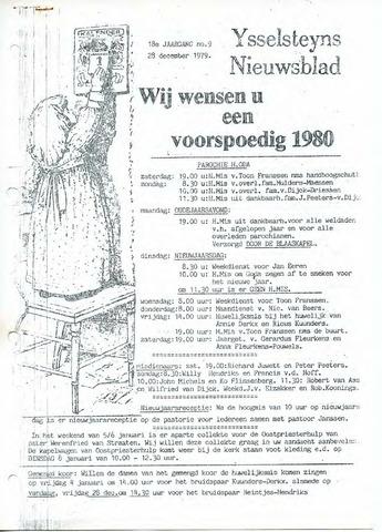 Ysselsteyns Nieuwsblad 1979-12-28