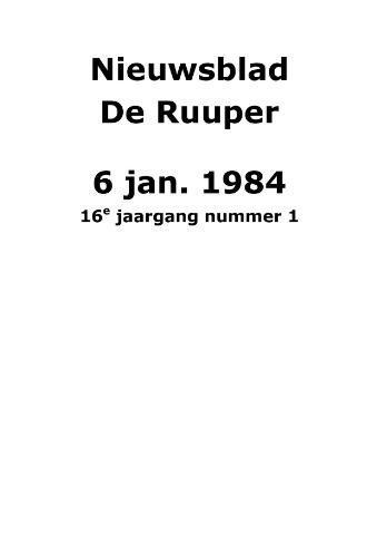 Dorpsblad Leunen-Veulen-Heide 1984