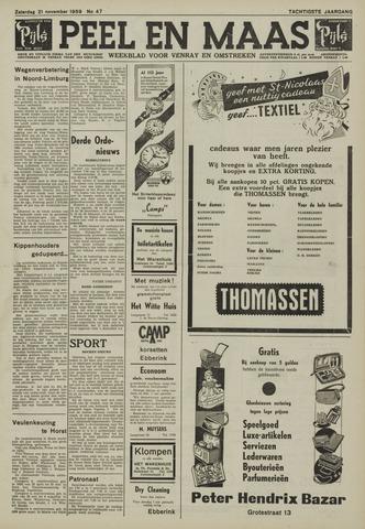 Peel en Maas 1959-11-21