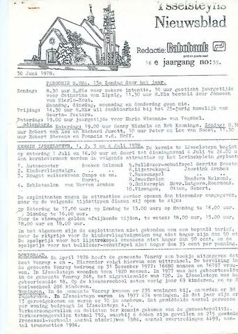 Ysselsteyns Nieuwsblad 1978-06-30