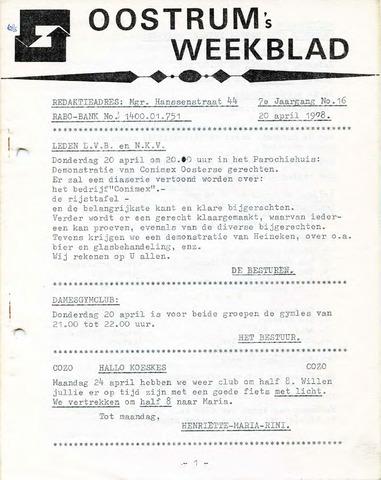 Oostrum's Weekblad 1978-04-20
