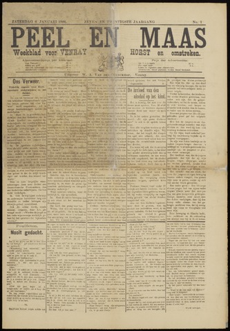 Peel en Maas 1906
